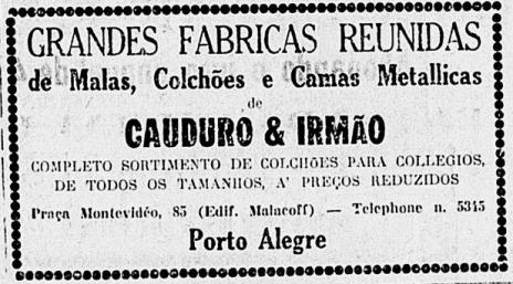 Cauduro A Federação Maio 1928