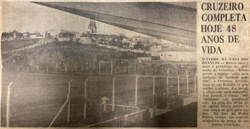 1961 EC Cruzeiro bem fardado