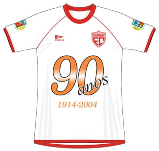 2004 Cachoeira FC (branca) 90 anos