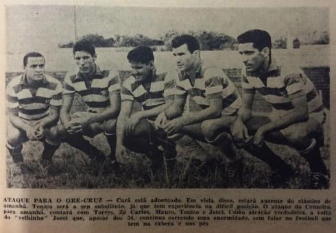 1961 EC Cruzeiro (listras horizontais)