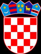 Brasão Croácia