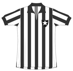 Até 1976 EC Botafogo (listrada)