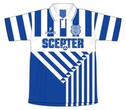 1994-1995 SC Guarany (listrada)