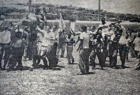 1962 Ping Pong Pão dos Pobres comemoração